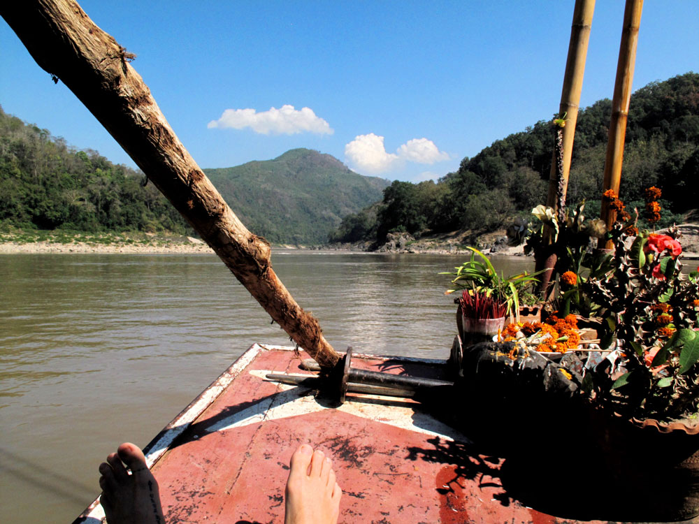 Taking it slow down the Mekong river