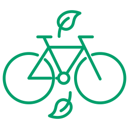 Sustainable transport logo I Barcelona Slow Travel