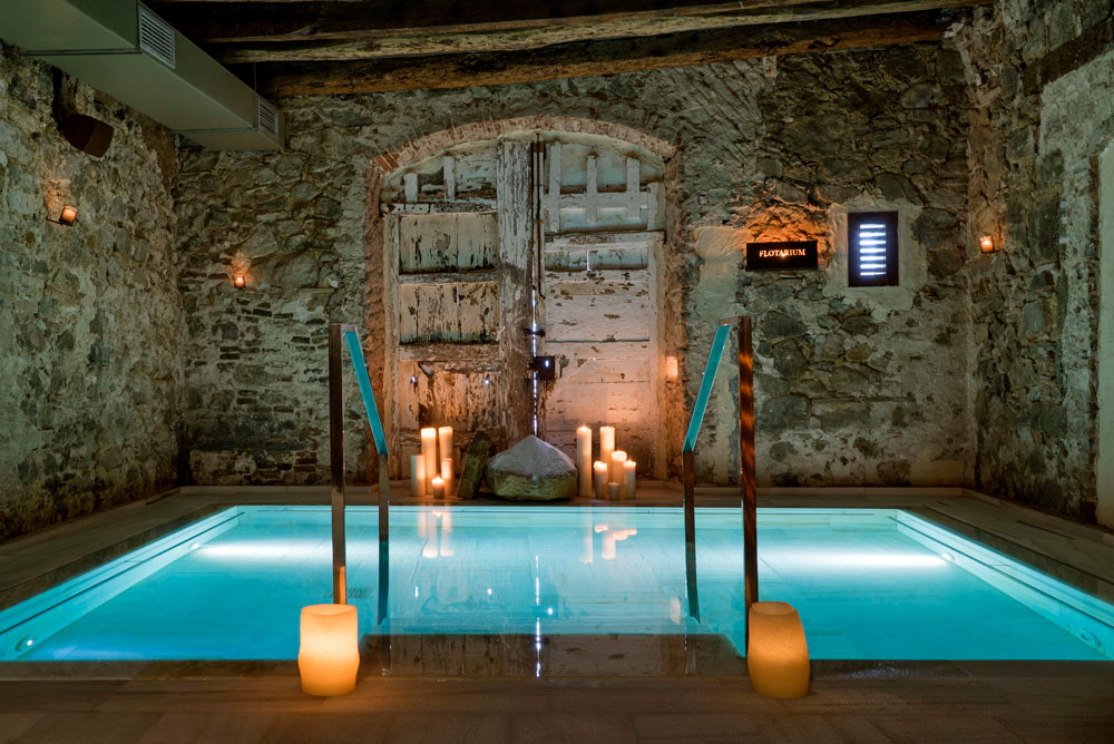 beautiful spa inside a Barcelona hotel