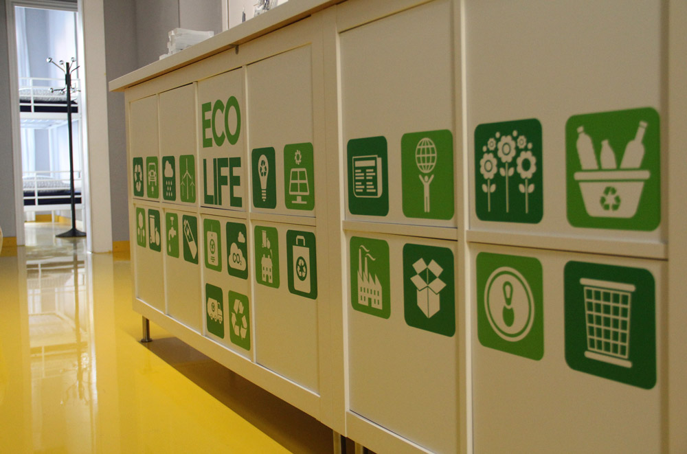 hostels sustainable policies