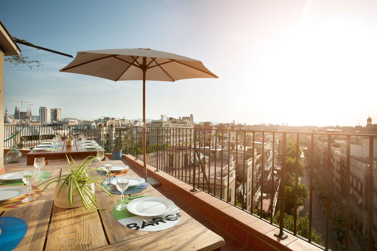 best views from apartment rentals in barcelona