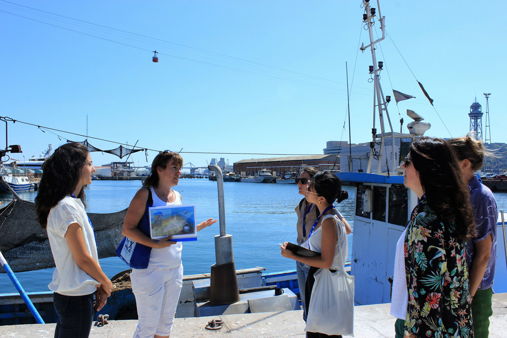 private Tour of the fishing harbor Barcelona