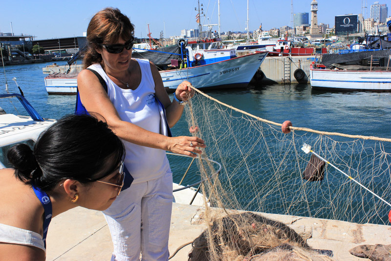 Sustainable fishing Barcelona
