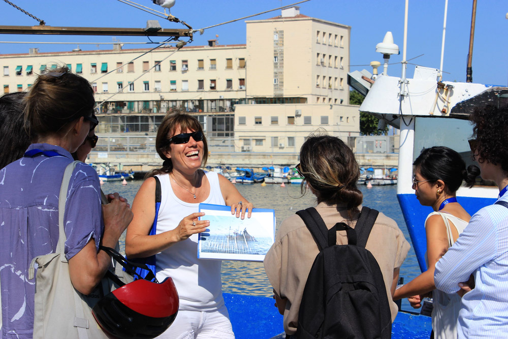 Visit of Barcelona's Fishing Harbor